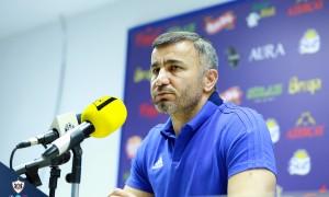 """Qurban Qurbanov: """"Azarkeşlər üçün yaxşı futbol göstərmək istəyirdik"""""""