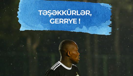 Təşəkkürlər, Gerrye !