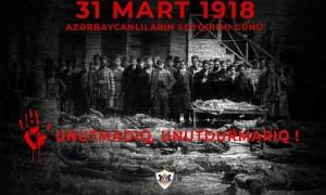 31 mart soyqırımından 102 il ötür