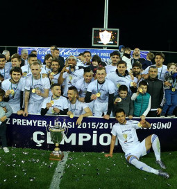 Azerbaijan champions - 2016