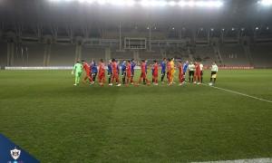Azərbaycan kuboku, 1/4 final (ilk oyun):