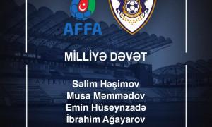 Milliyə 5 futbolçumuz dəvət alıb
